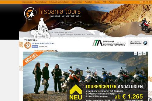 Hispania Tours Motorradreisen