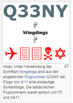 Hoax Wingdings