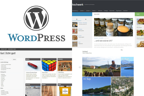WordPress bei effet webservices