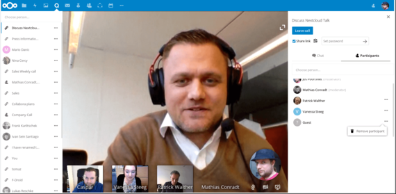 Nextcloud Talk App