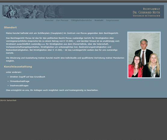 Anwalt Dr. Gerhard Roth