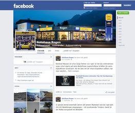 Autohaus Rogen bei Facebook