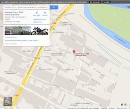 Hispania Tours Eintrag bei Google Maps