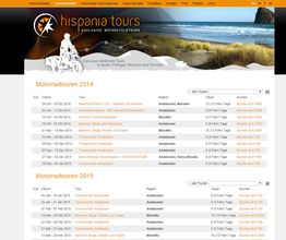Hispania Tours Kalender