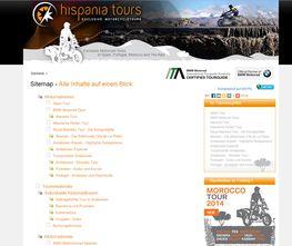 Hispania Tours Sitemap