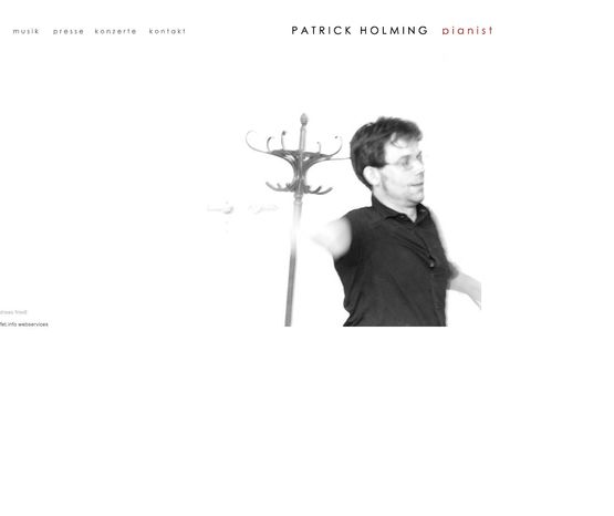 Patrick Holming pianist