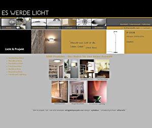 effet.info: Umstieg auf E-Business für Licht & Projekt